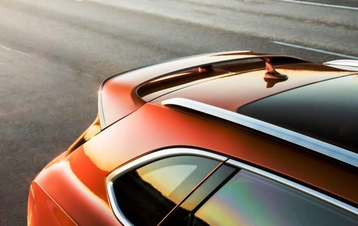 Bentley Bentayga Speed rear wing