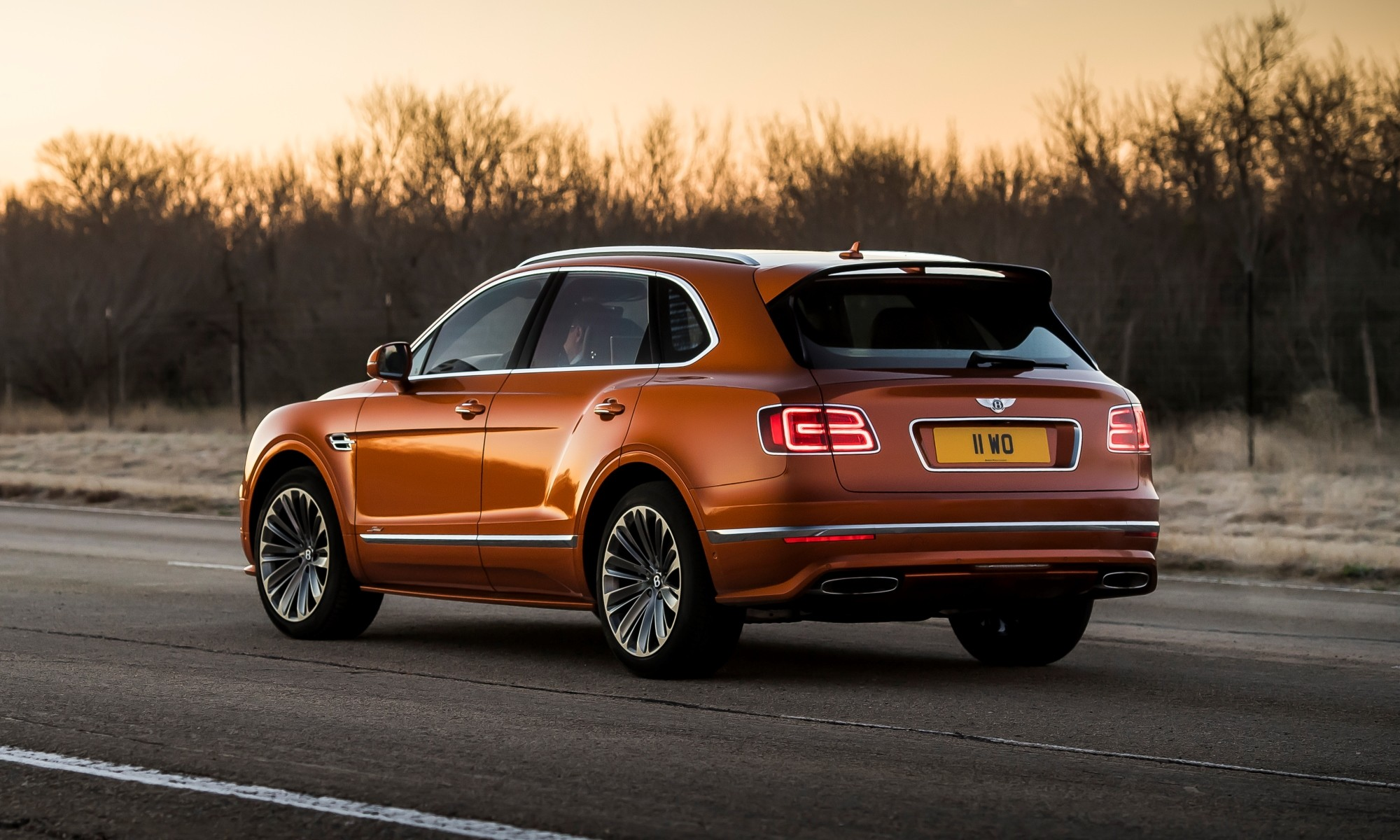 Bentley Bentayga Speed rear