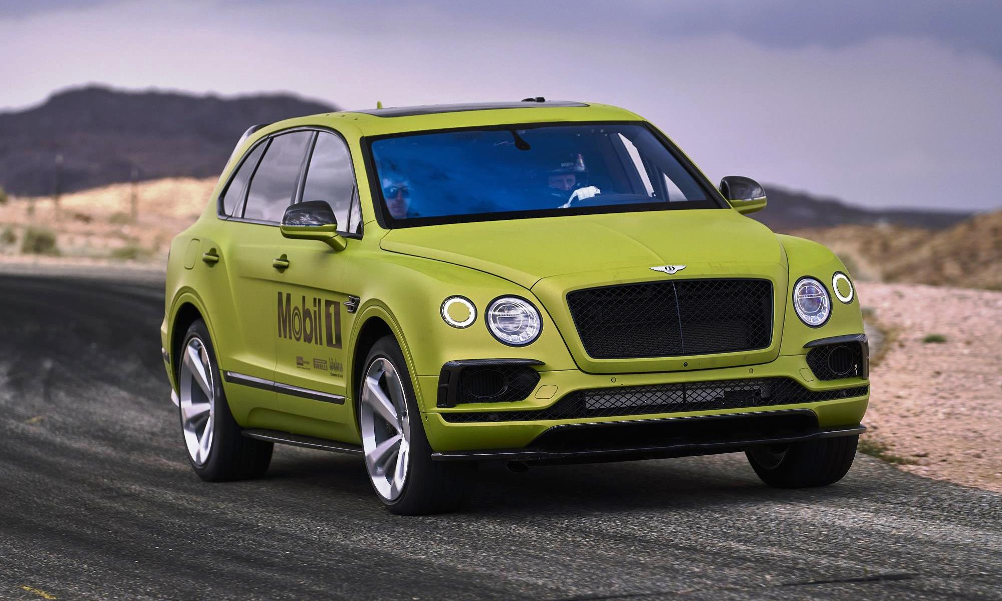 Bentley Bentayga at Pikes Peak International Hill Climb