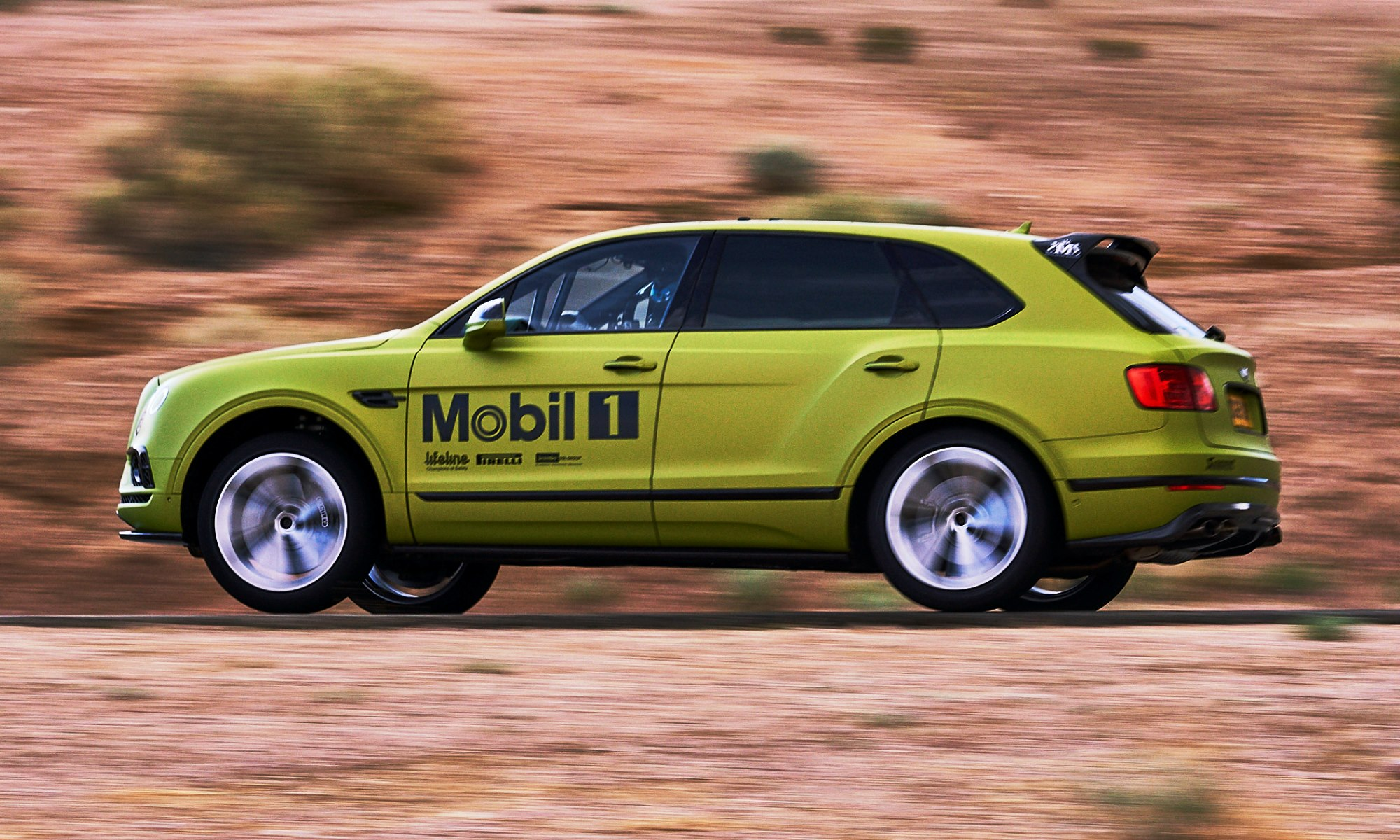 Bentley Bentayga testing ahead of Pikes Peak International Hill Climb