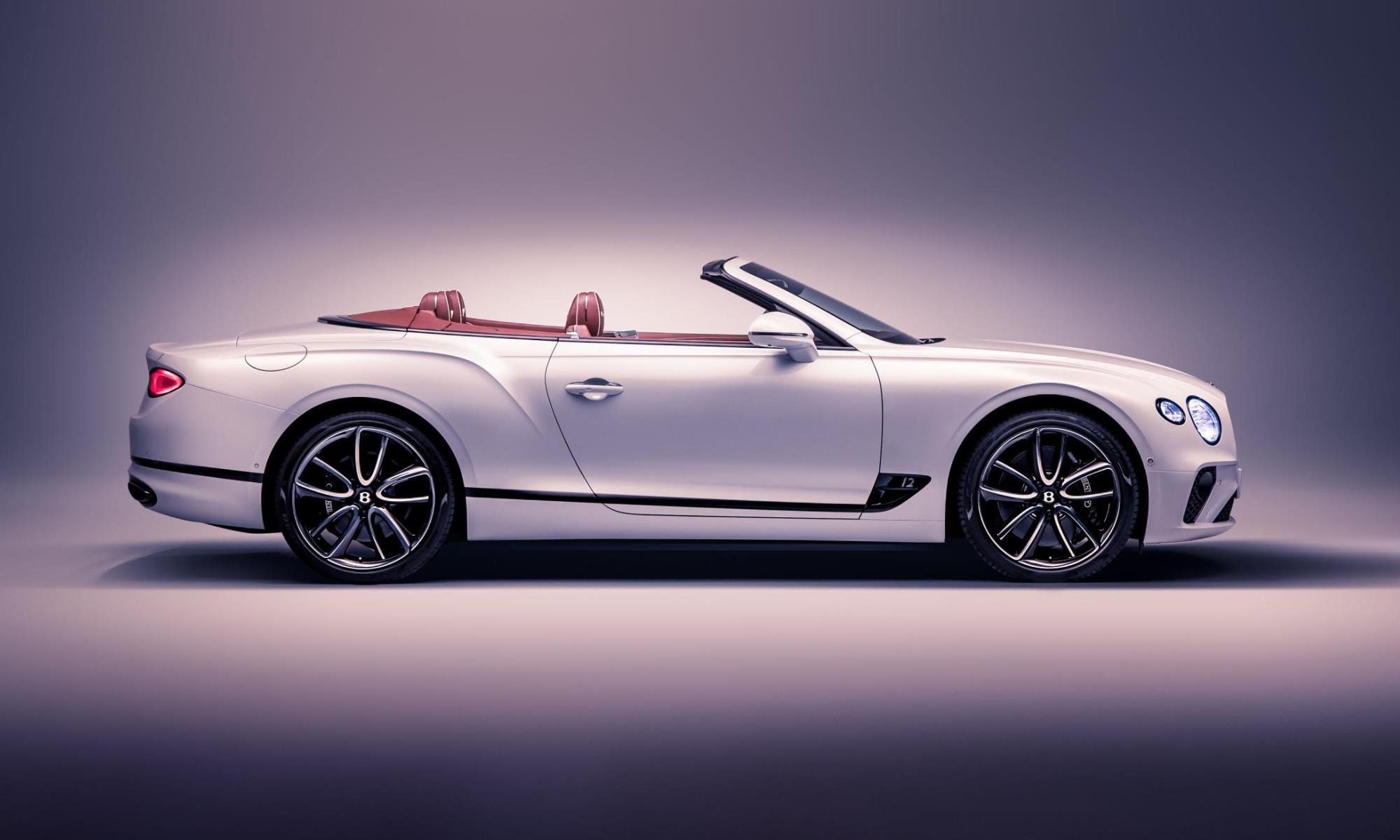 Bentley Continental GT Convertible profile