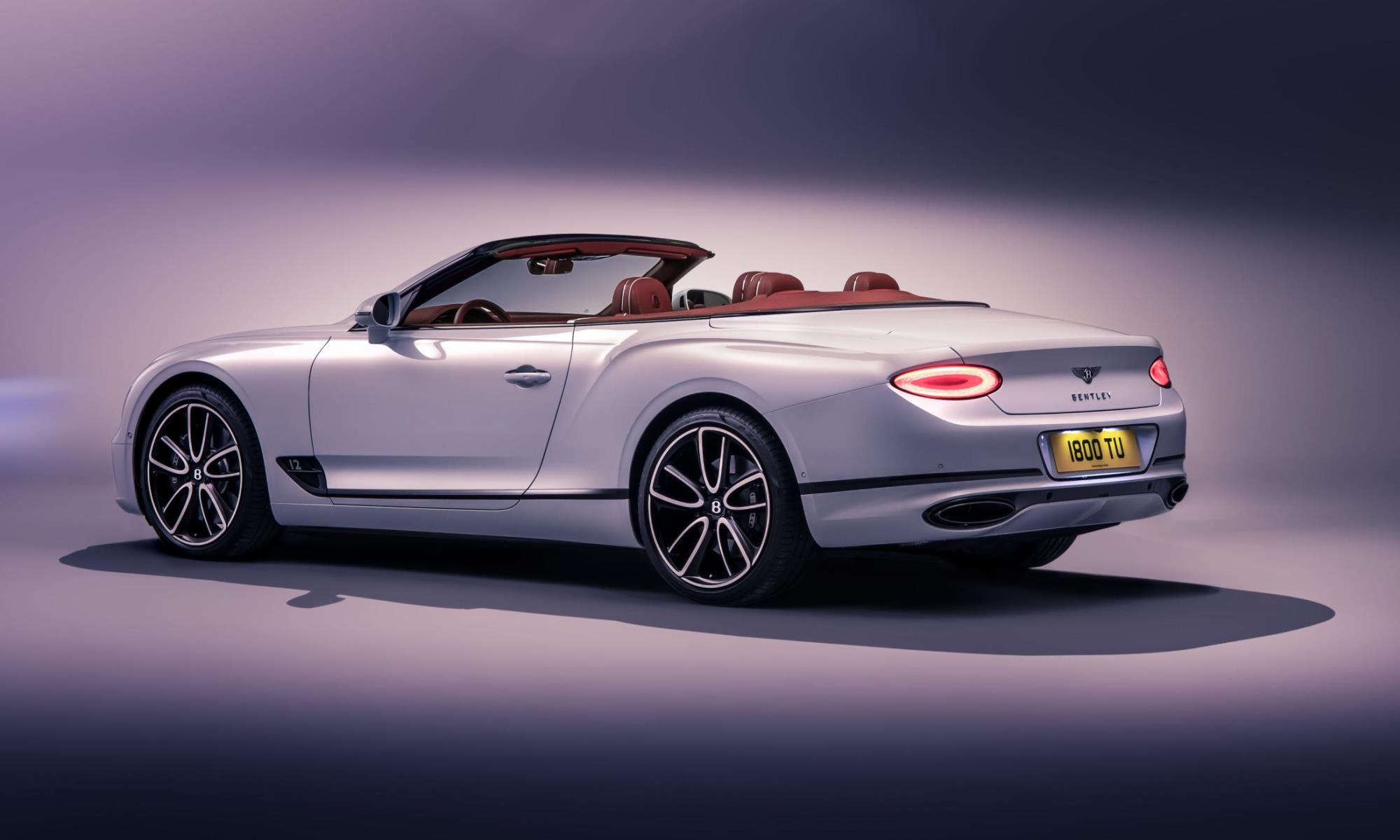Bentley Continental GT Convertible rear