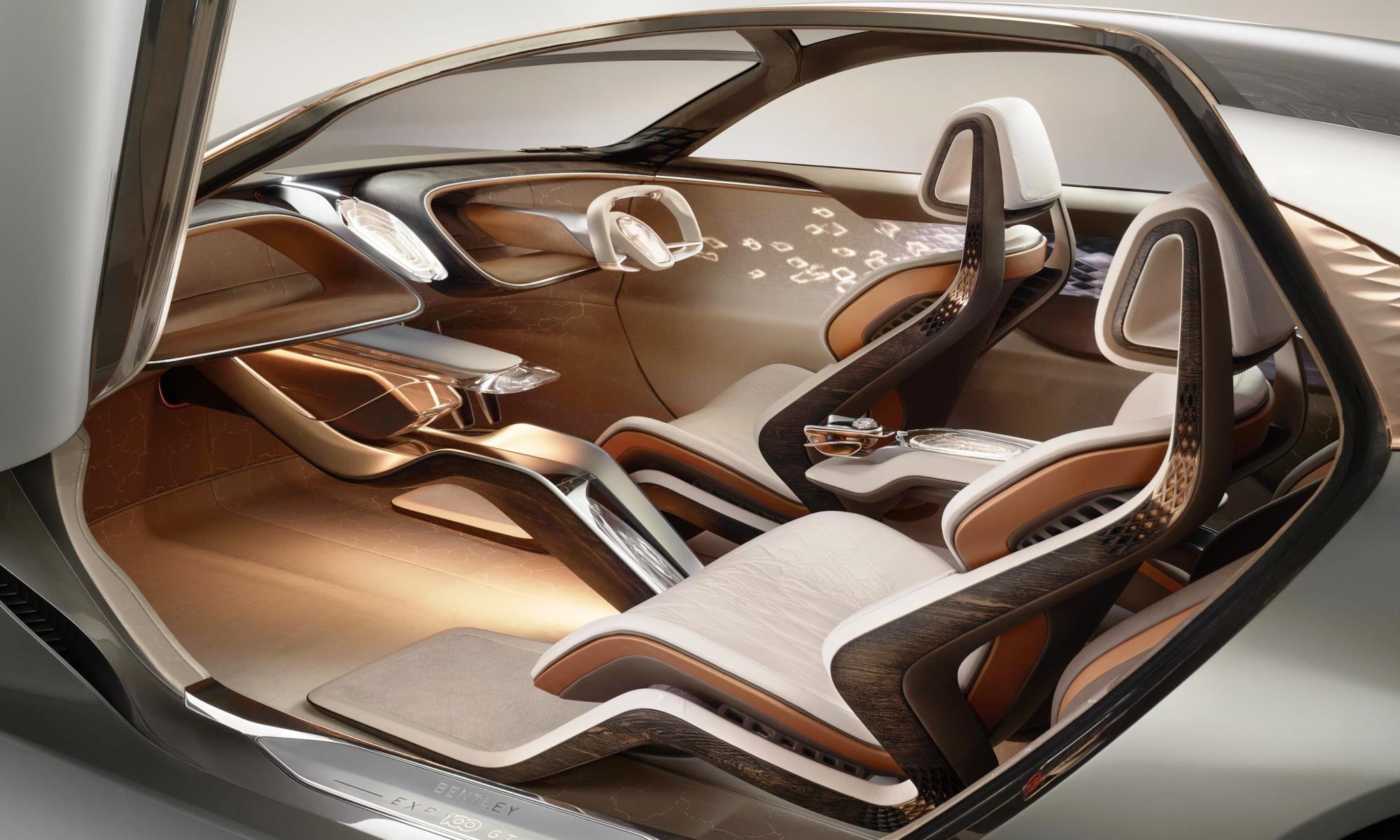 Bentley EXP 100 GT facia