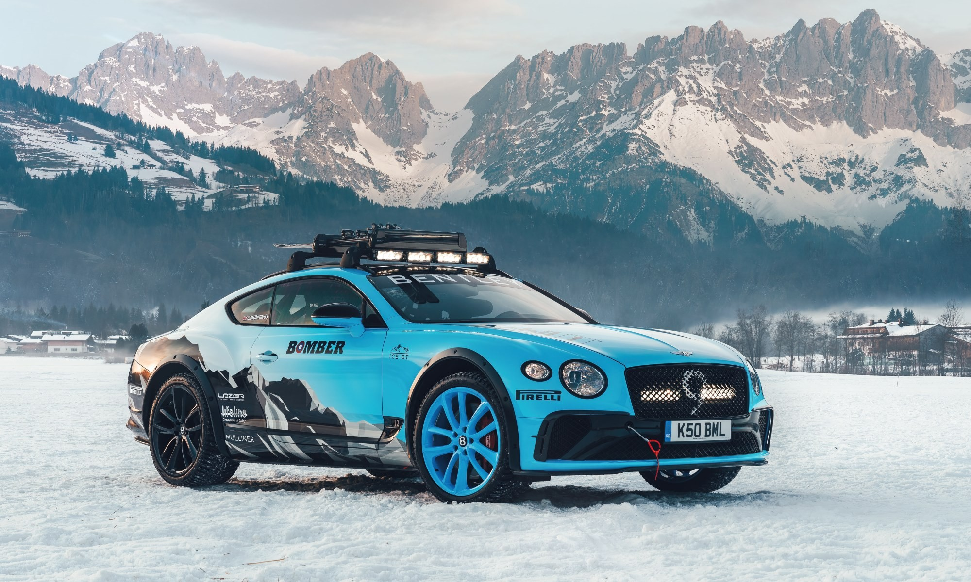 Bentley Ice Race Continental GT rear