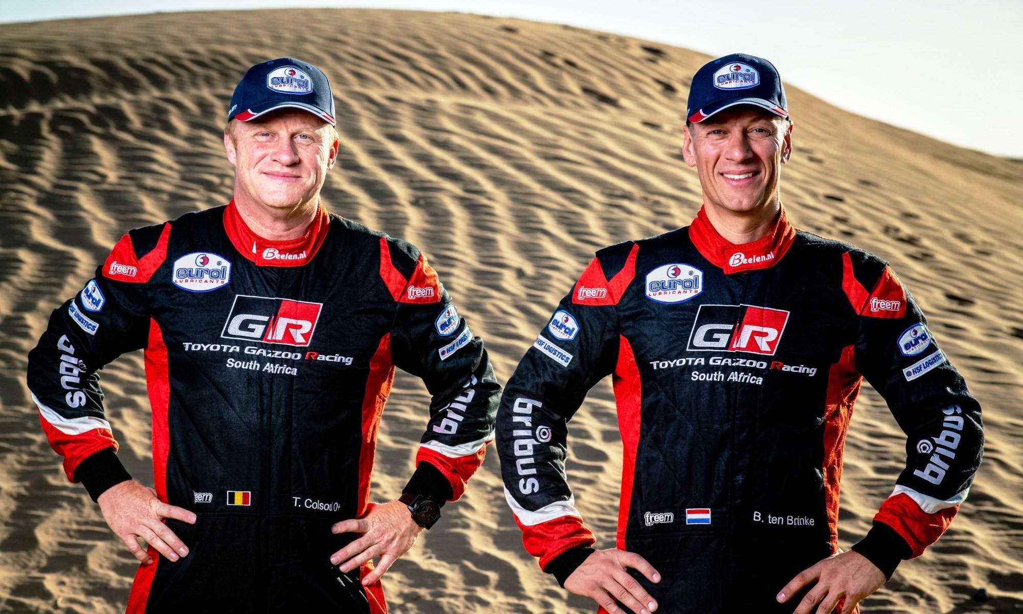 Bernhard Ten Brinke and navigator Tom Colsoul