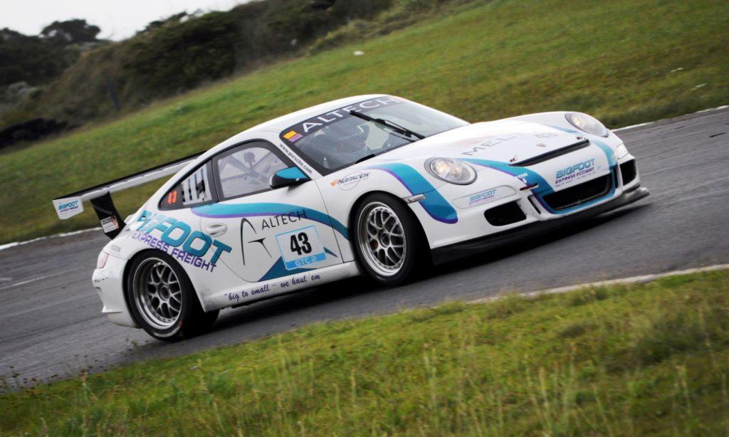 Bigfoot Express Porsche 911 GT3 Cup Car