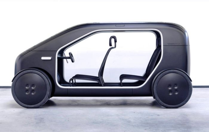 Biomega Concept Electric car profile