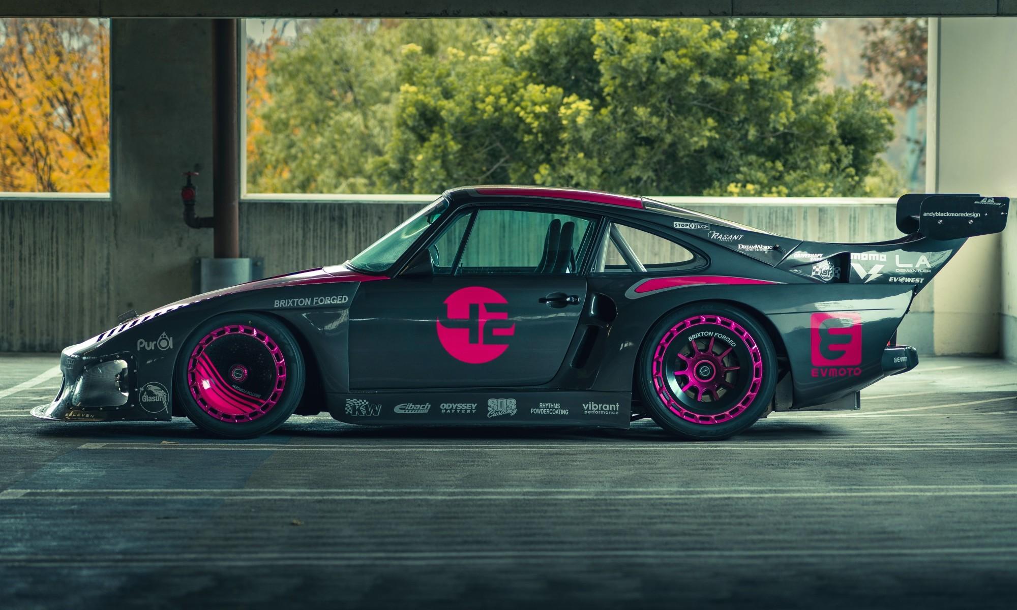 Bisimoto Electric Porsche 935 profile