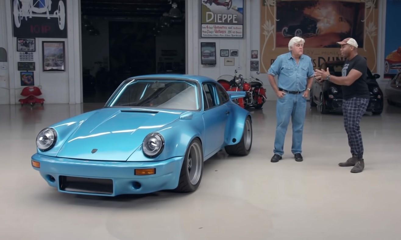 Bisimoto Porsche 911 Bisi and Jay Leno