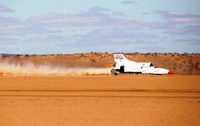 Bloodhound Blasts to 537 km/h
