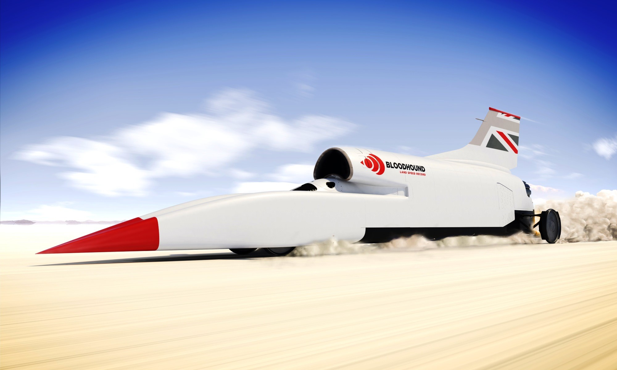 Bloodhound LSR in SA poster