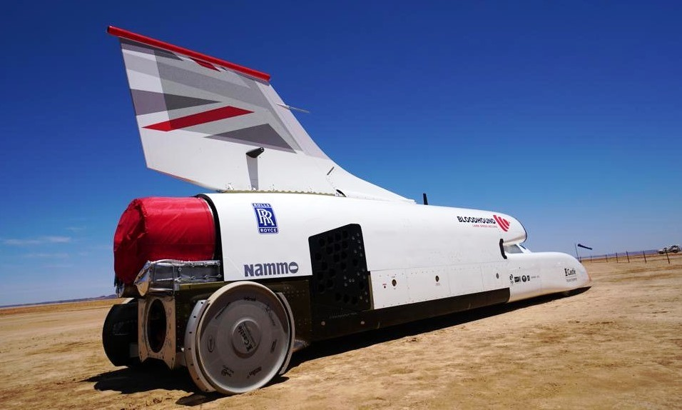 Bloodhound LSR in SA rear