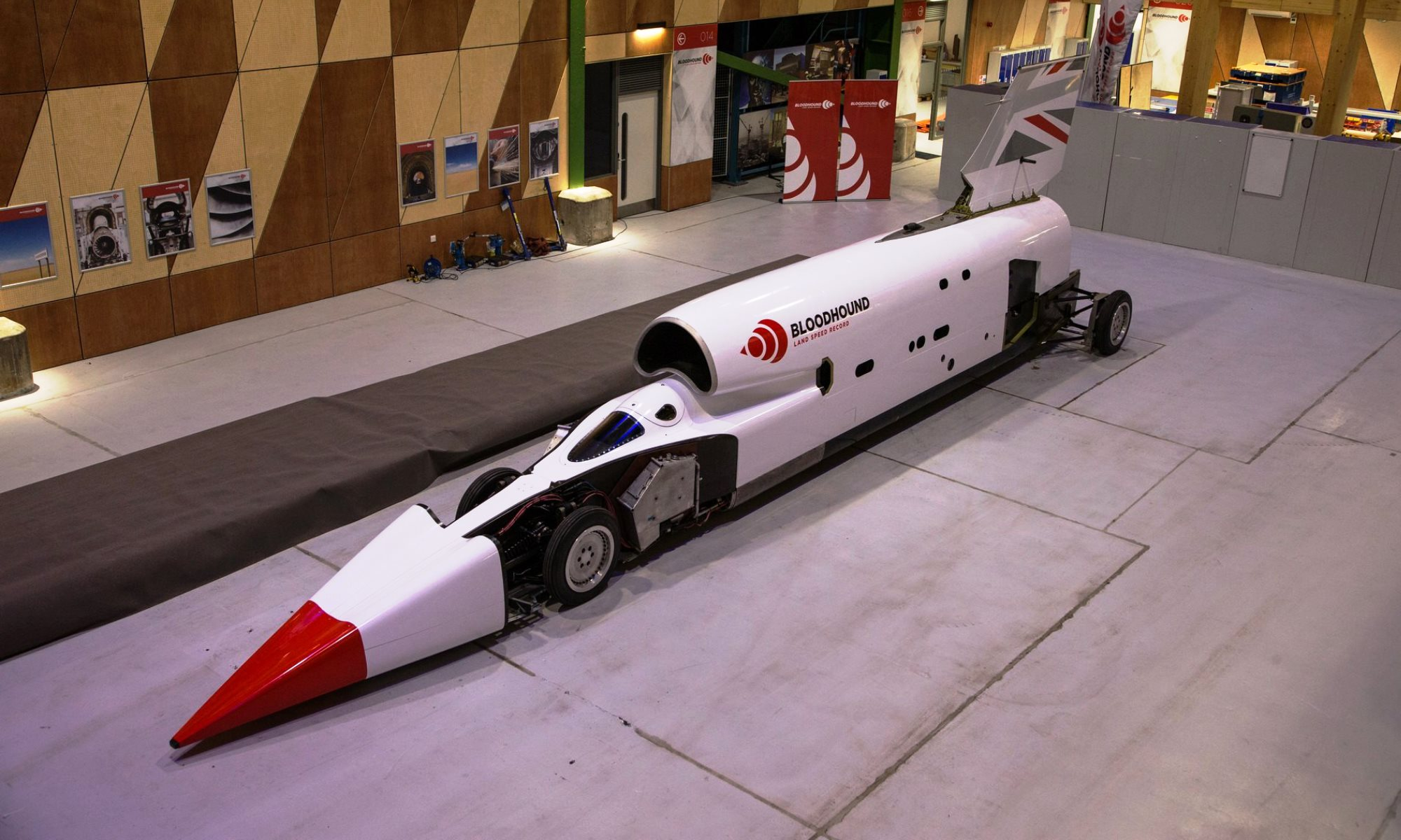 Bloodhound LSR Testing in SA