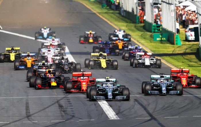 Bottas took the lead at the start and never looked back