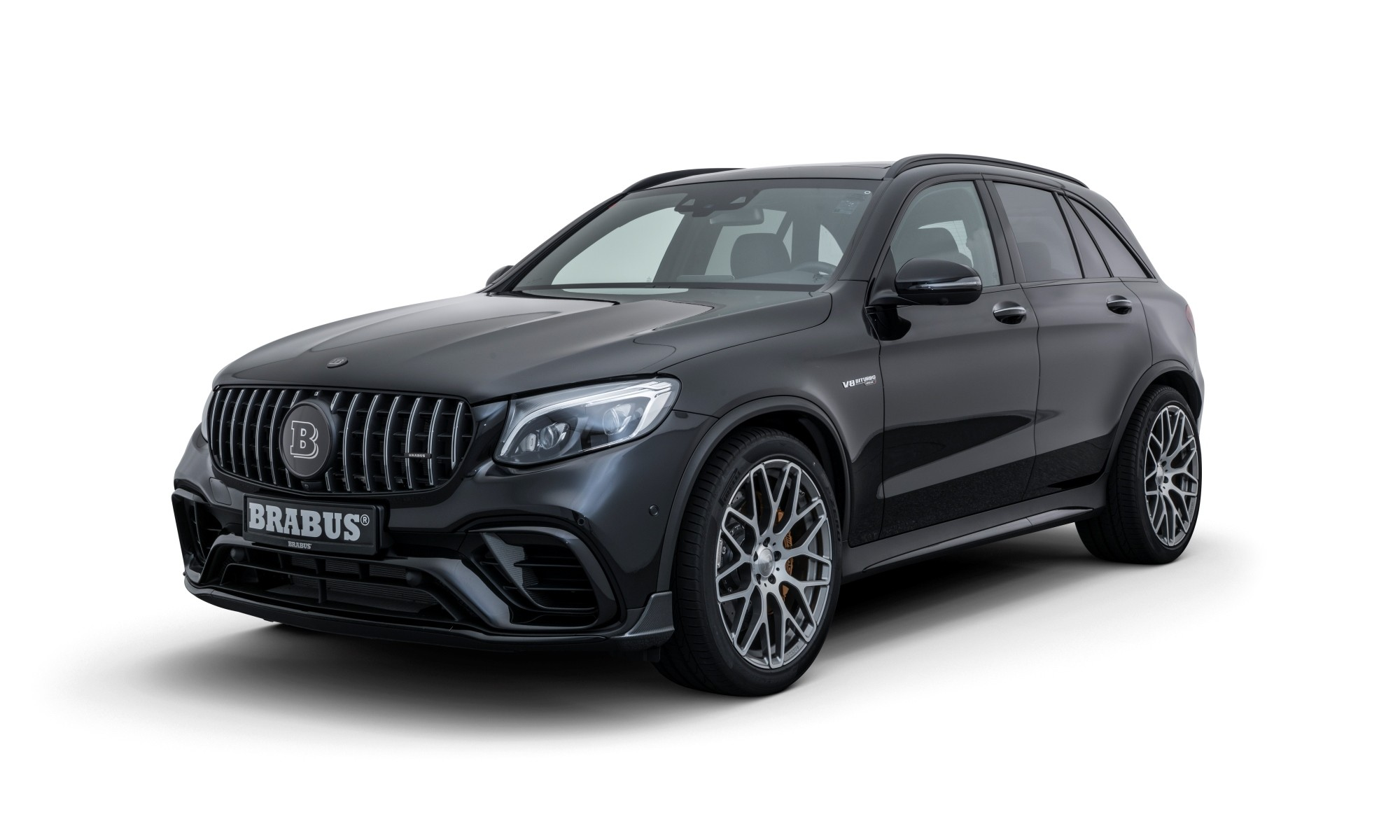 Brabus 600 Compact SUV has a restyled front bumper