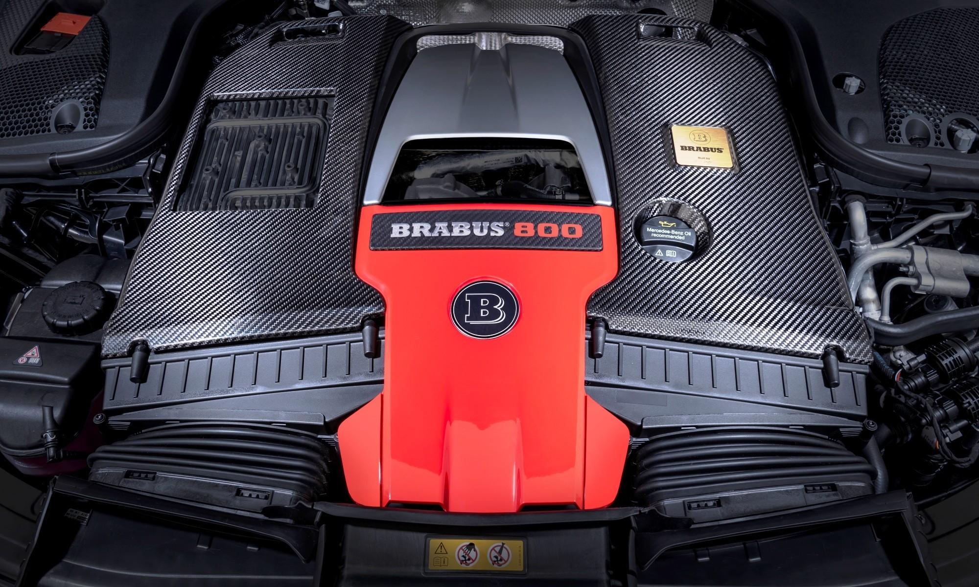Brabus 800 GT63 S engine