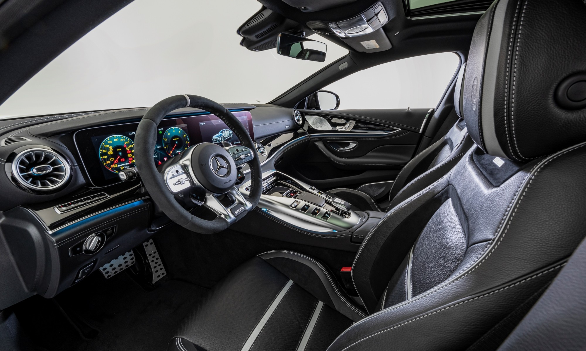 Brabus 800 GT63 S interior