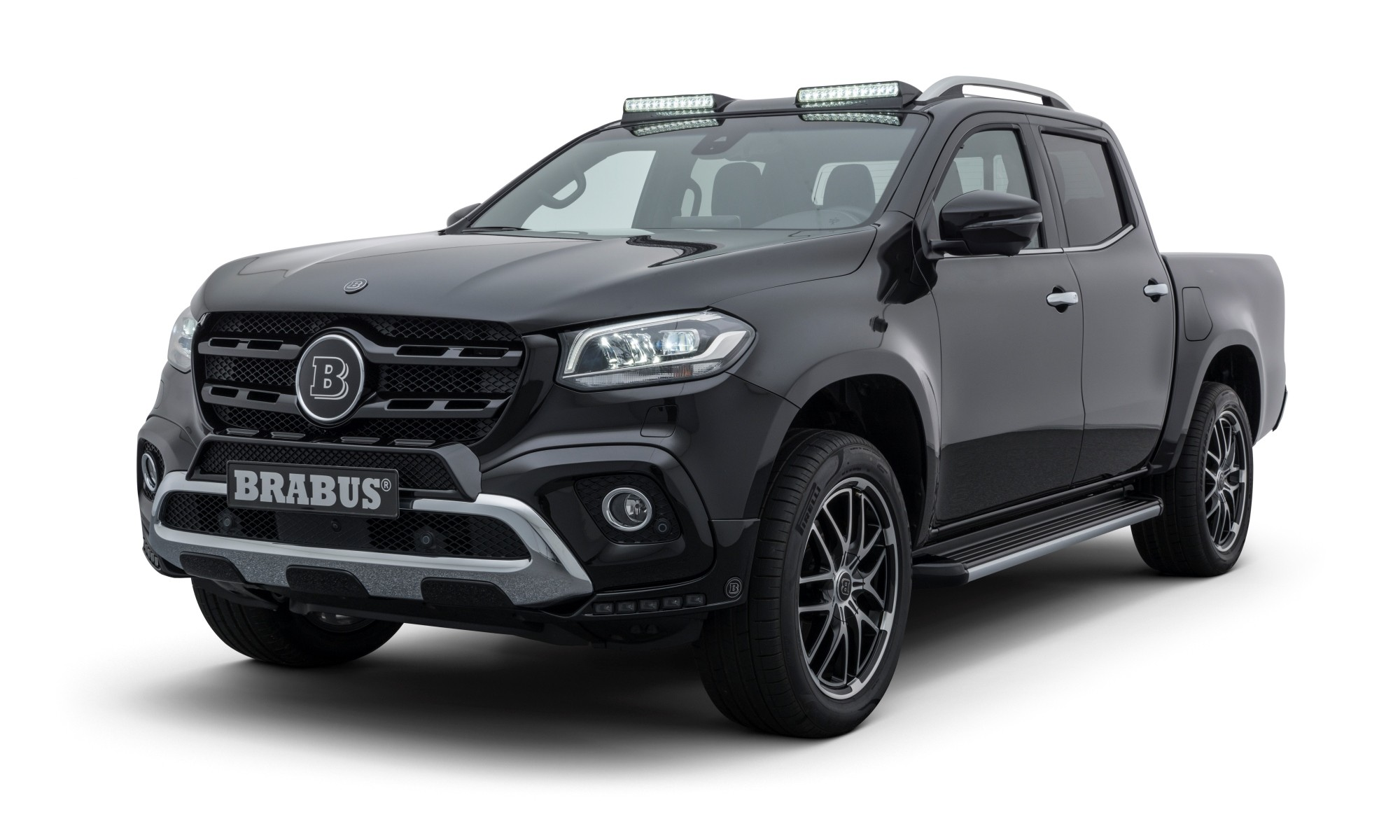 Brabus refines the Mercedes X-class