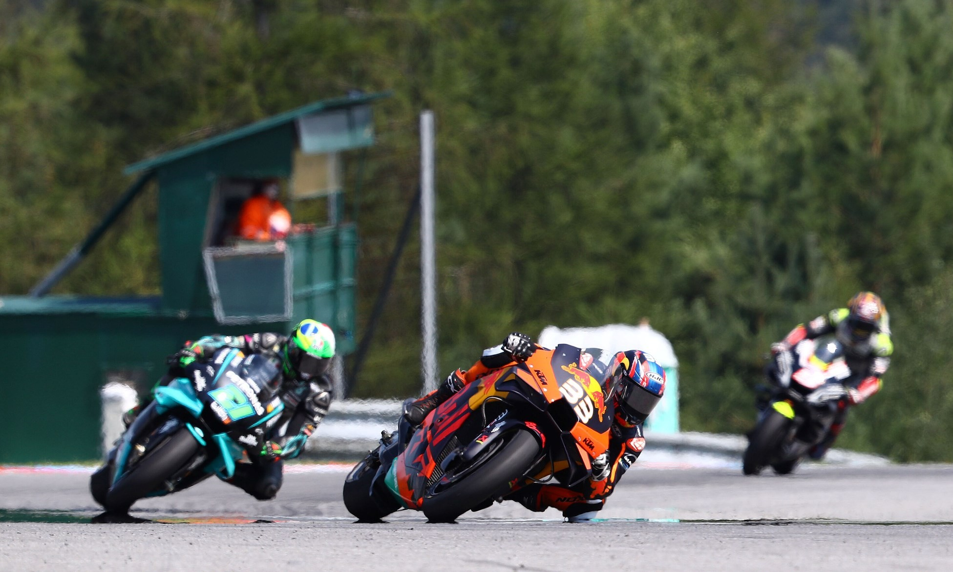 Brad Binder wins at Brno