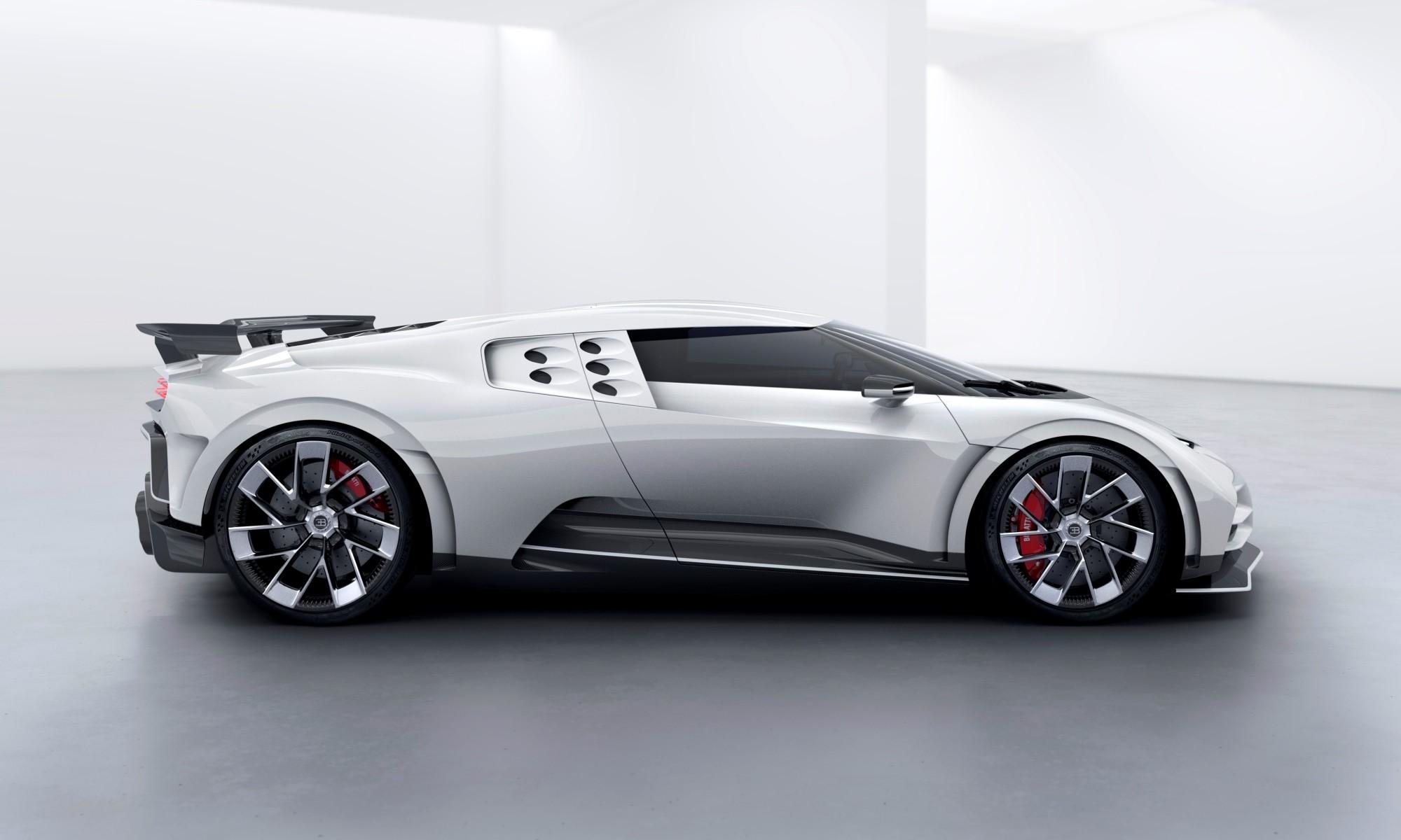 Bugatti Centodieci profile