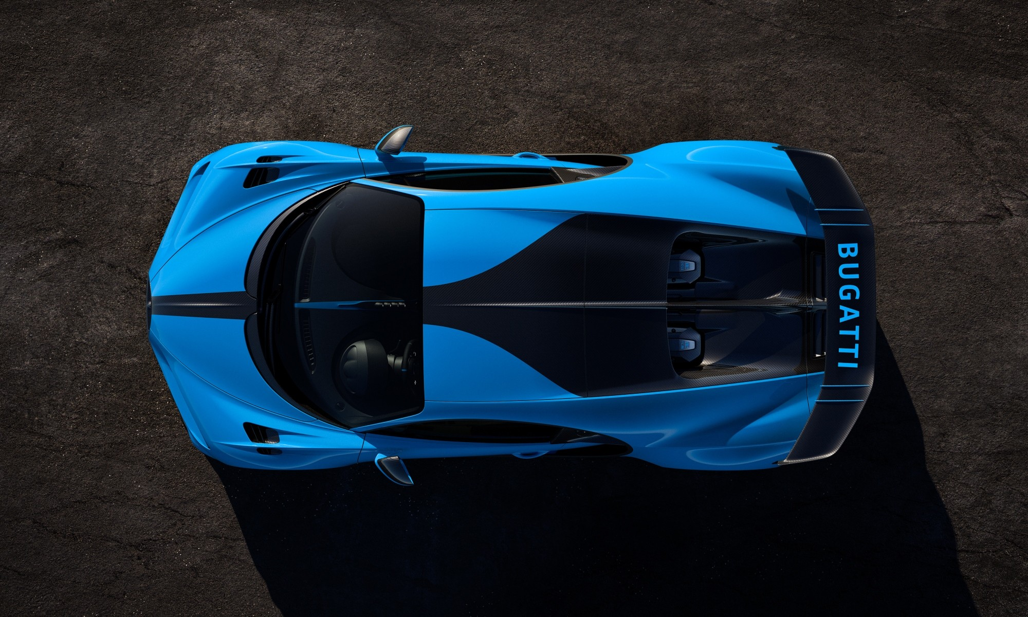 Bugatti Chiron Pur Sport overhead