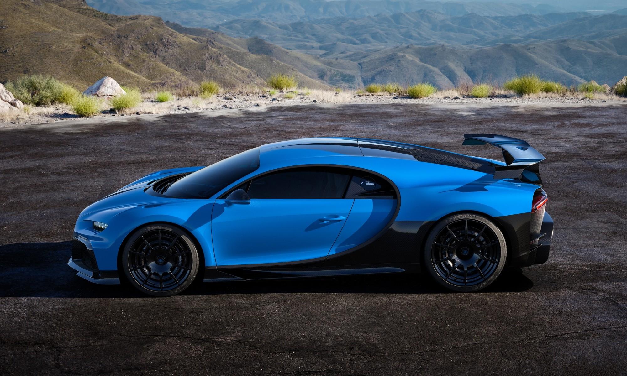Bugatti Chiron Pur Sport profile