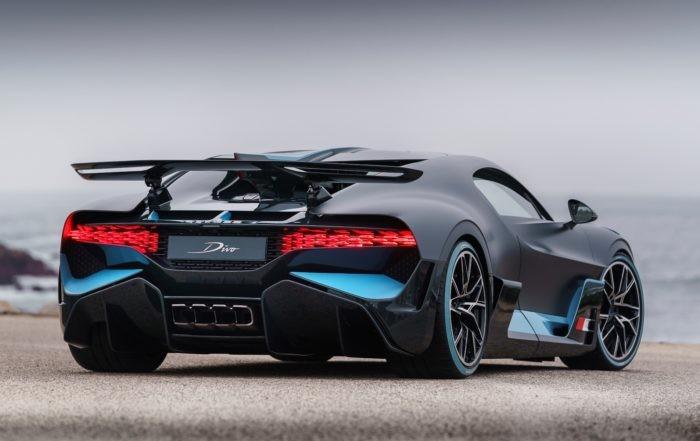 Bugatti Divo hypercar rear