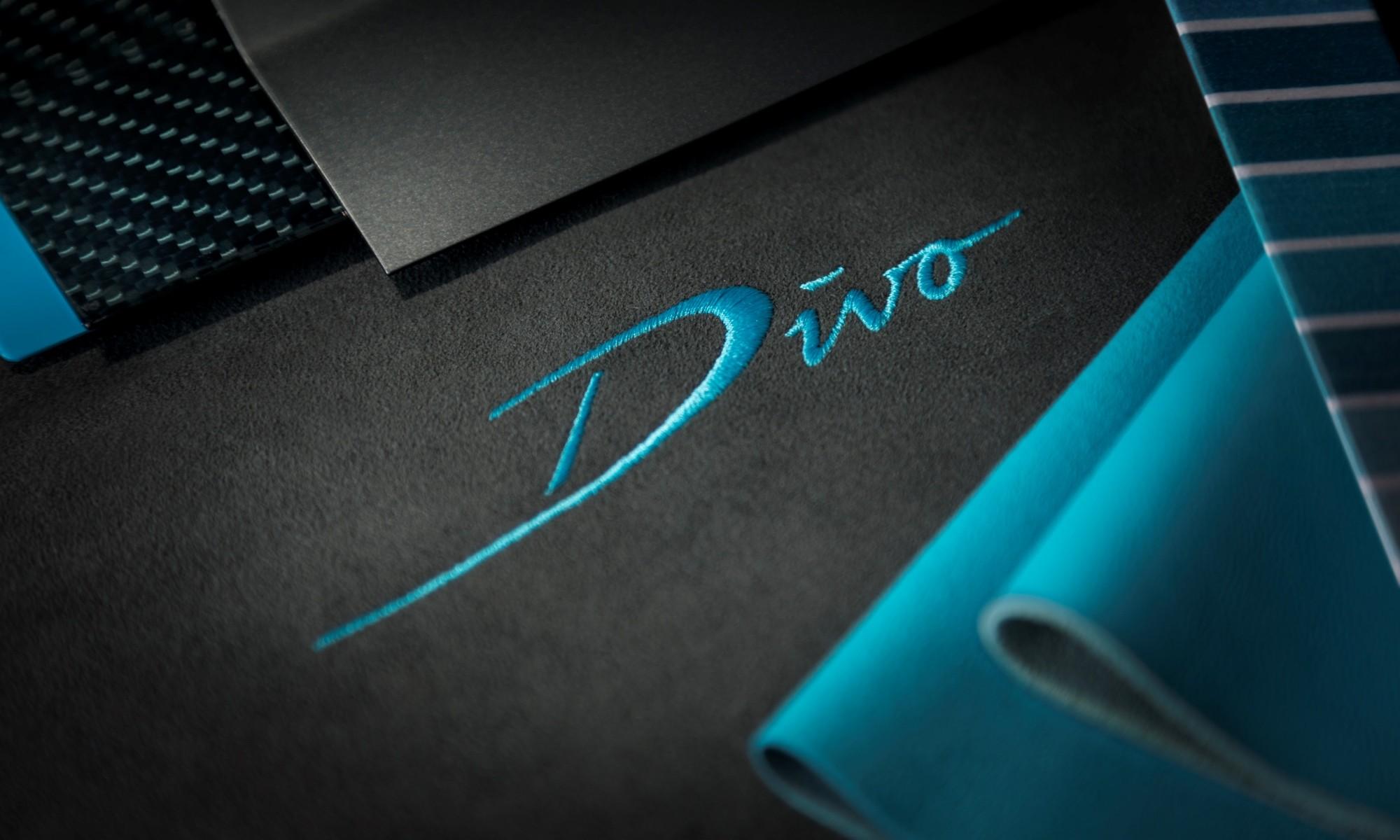 Bugatti Divo teaser