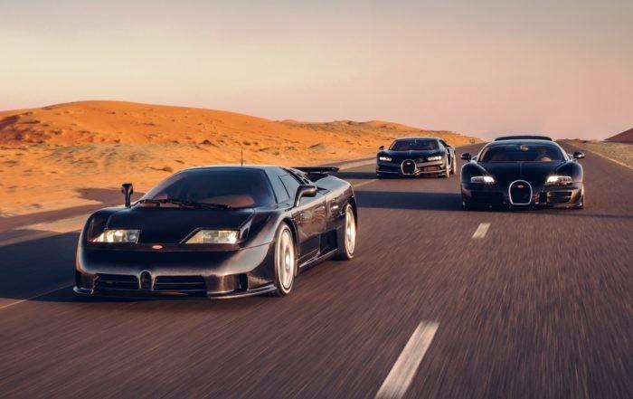 Bugatti Generations front