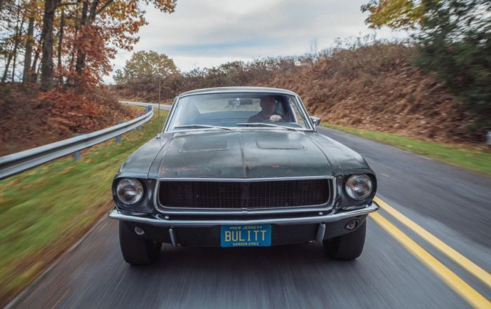 Bullitt Mustang front