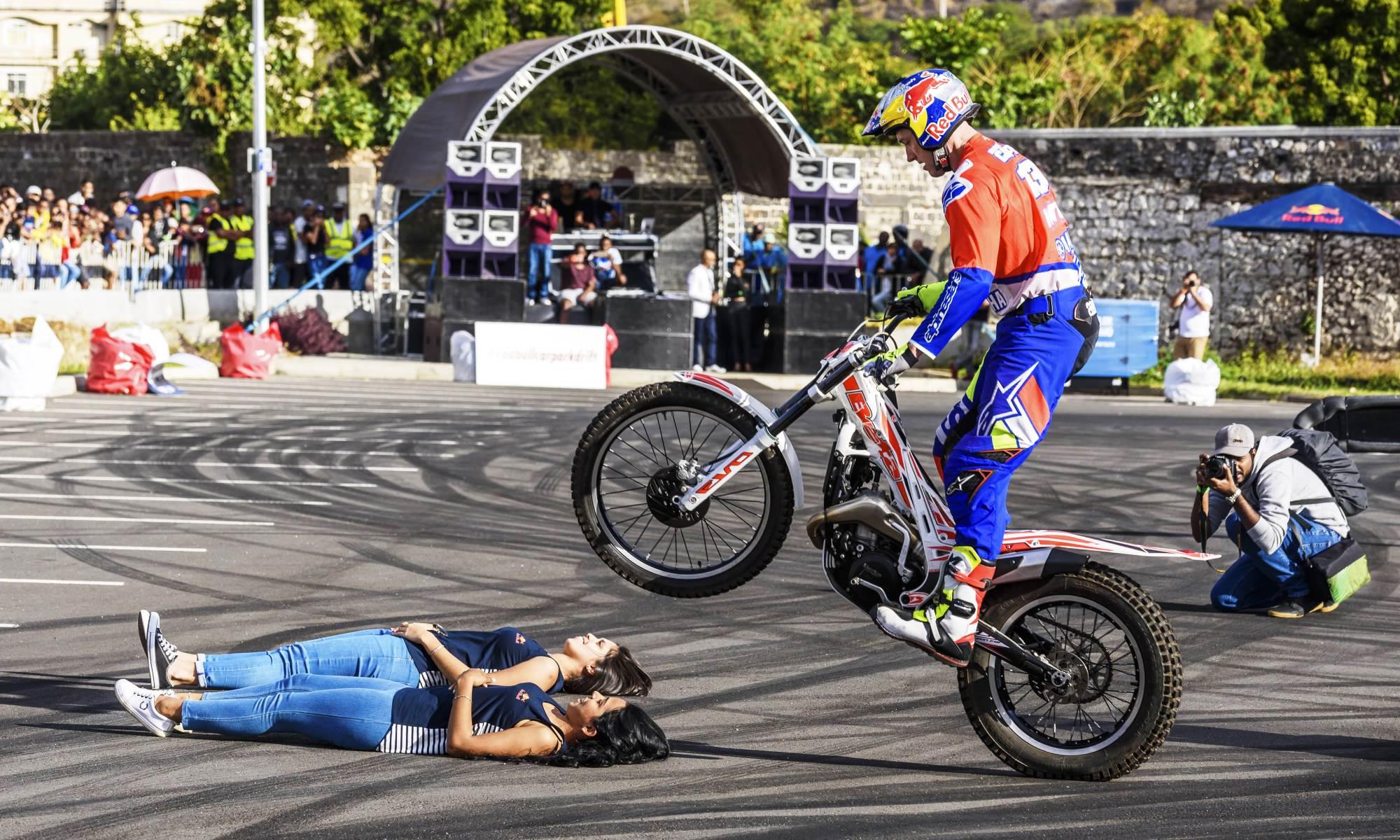 Cape Town F1 experience rider Brian Capper