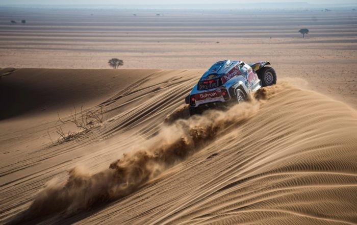 Carlos Sainz was the man to beat on 2020 Dakar Stage 7