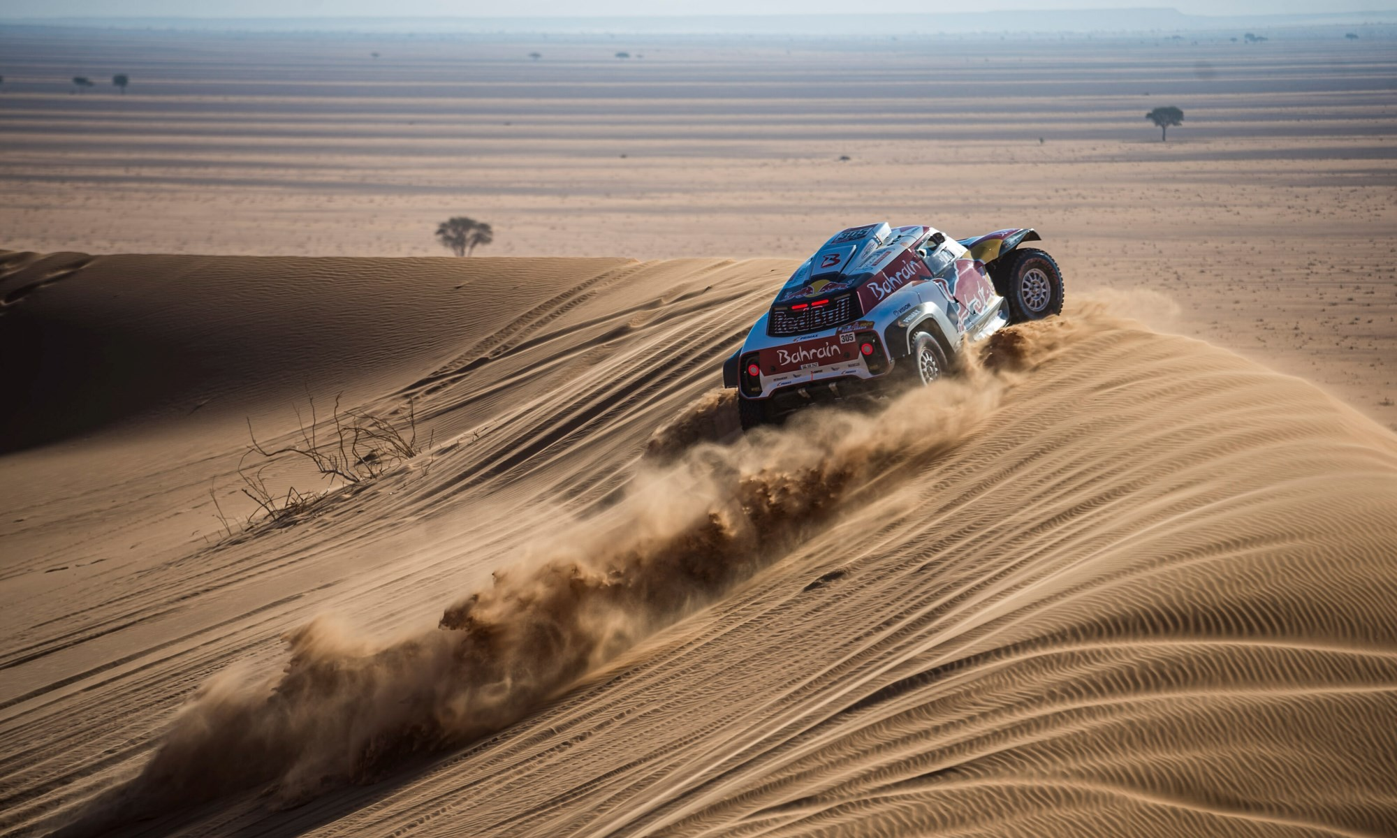 Carlos Sainz was the man to beat on 2020 Dakar Stage 7