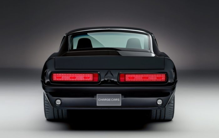 Charge Automotive Electric Mustang rear