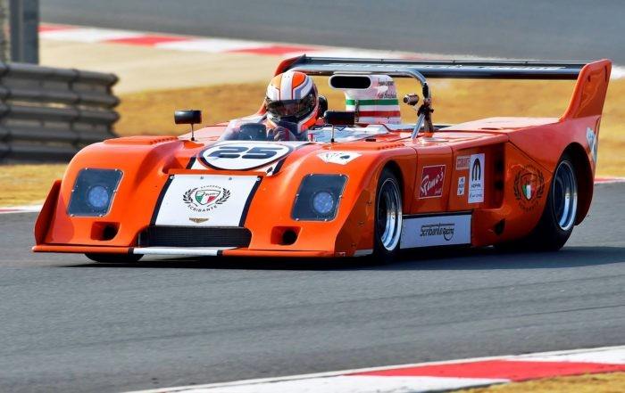 Classic racecars on track at the 2018 SA Festival of Motoring