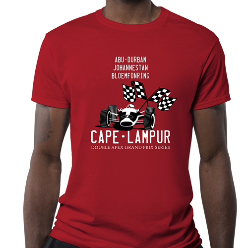 Double Apex Classic Grand Prix car T-shirt