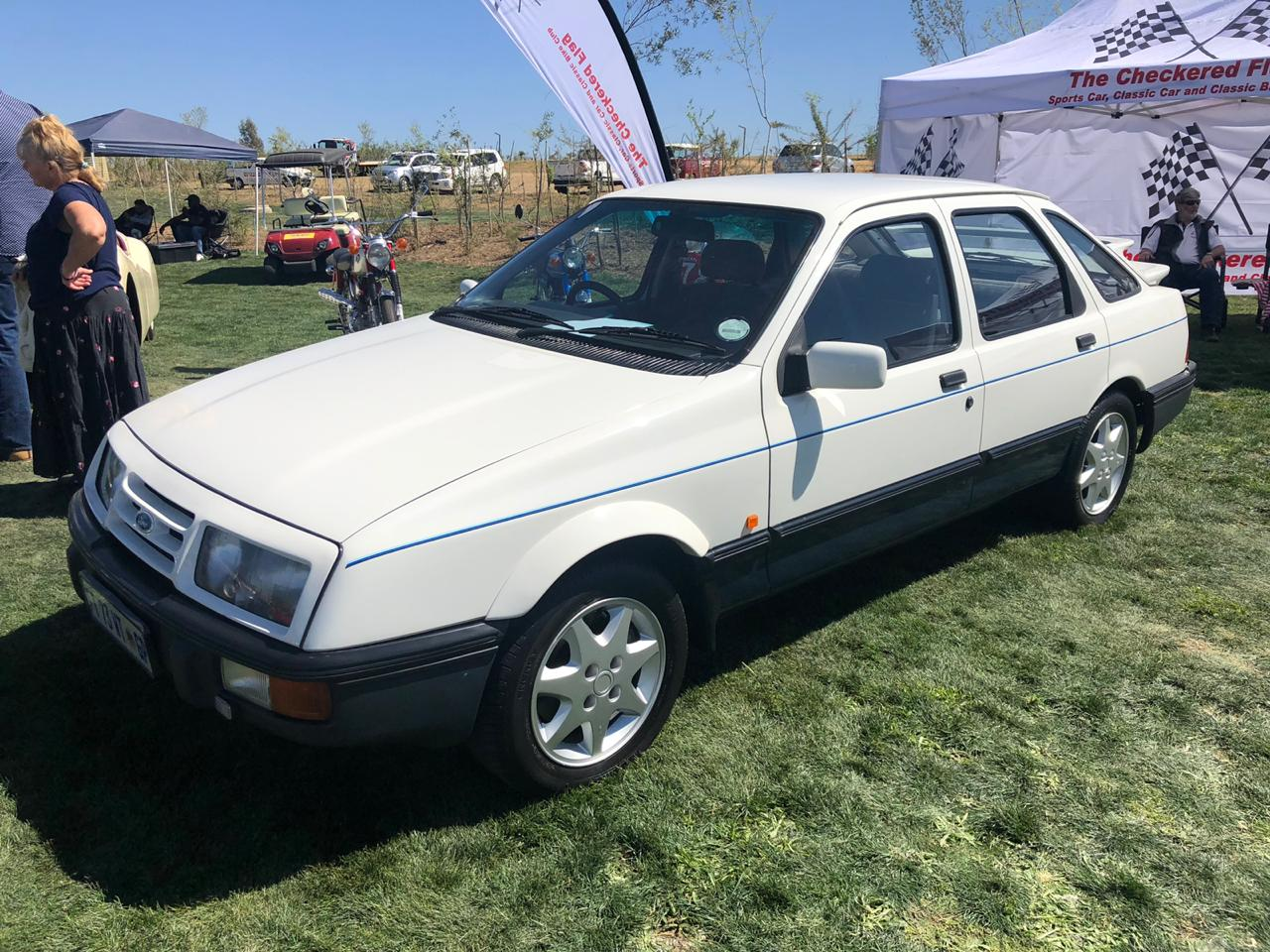 The legendary Ford Sierra XR8 - a rare SA special.