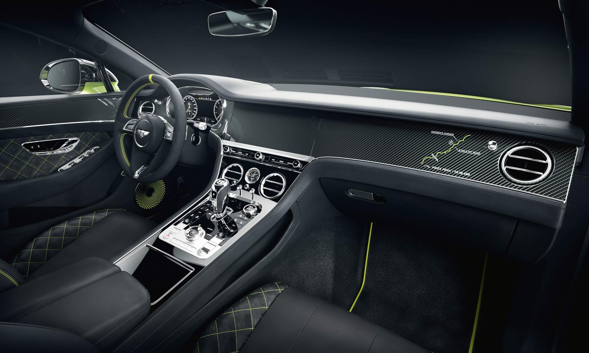 Continental GT Limited Edition interior