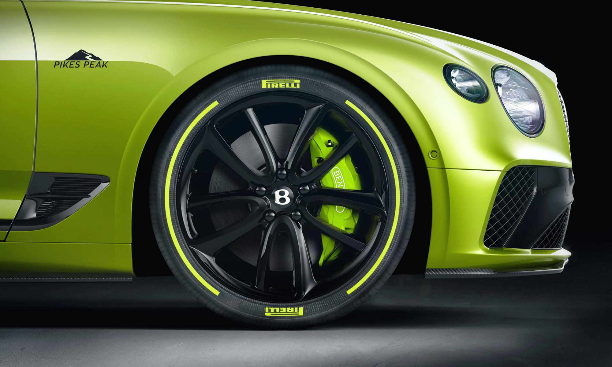 Continental GT Limited Edition wheel