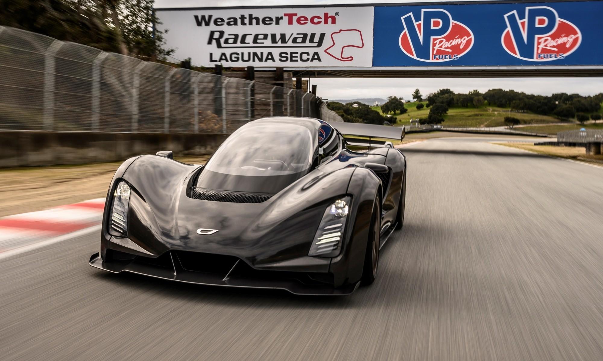 Czinger 21C Unveiled at Laguna Seca