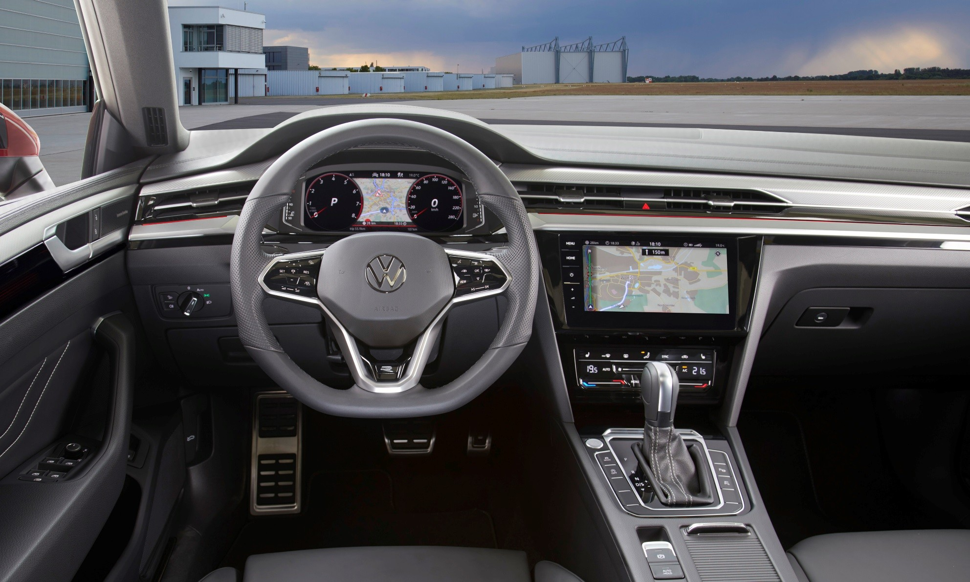 Facelifted VW Arteon interior