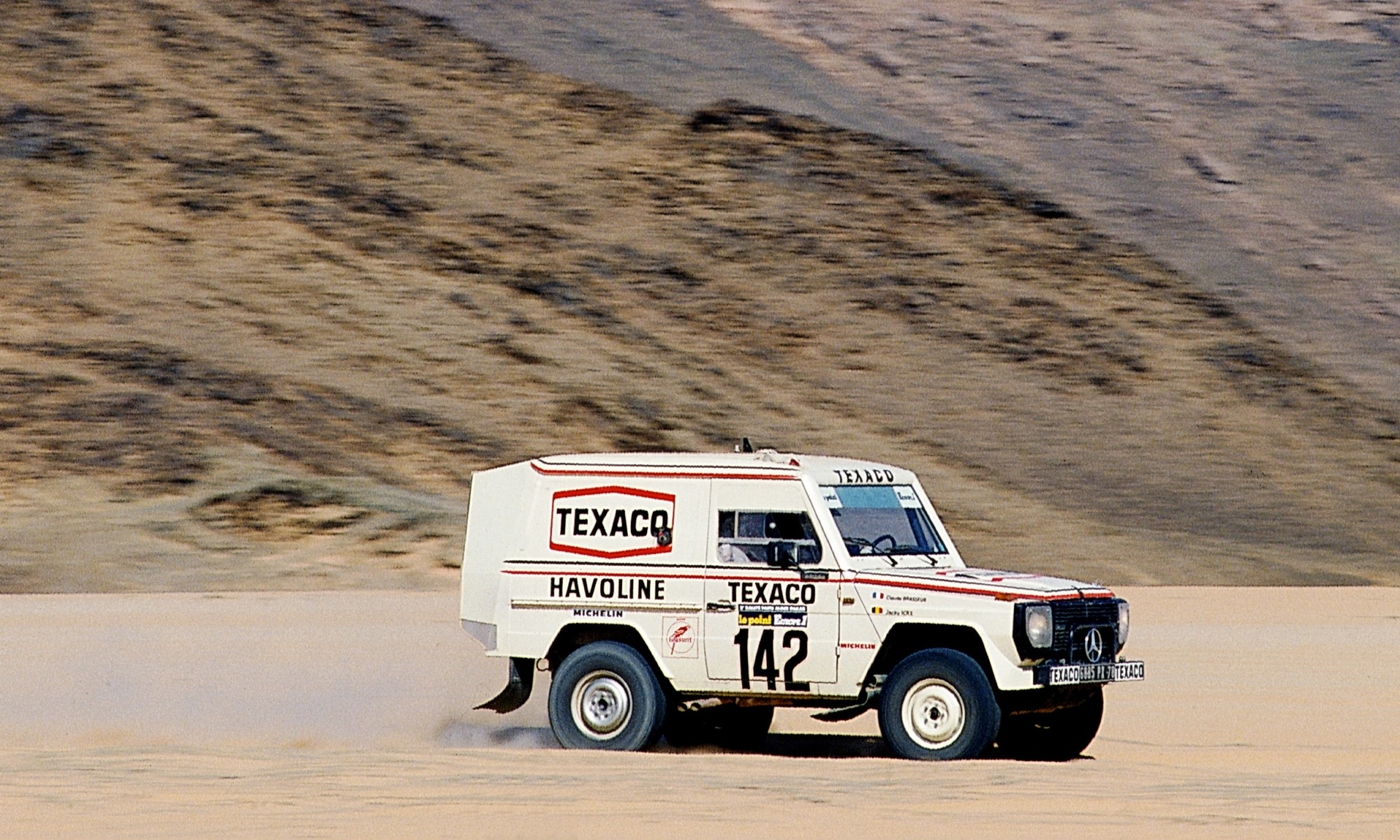 Dakar Classic Mercedes-Benz Gelandewagen