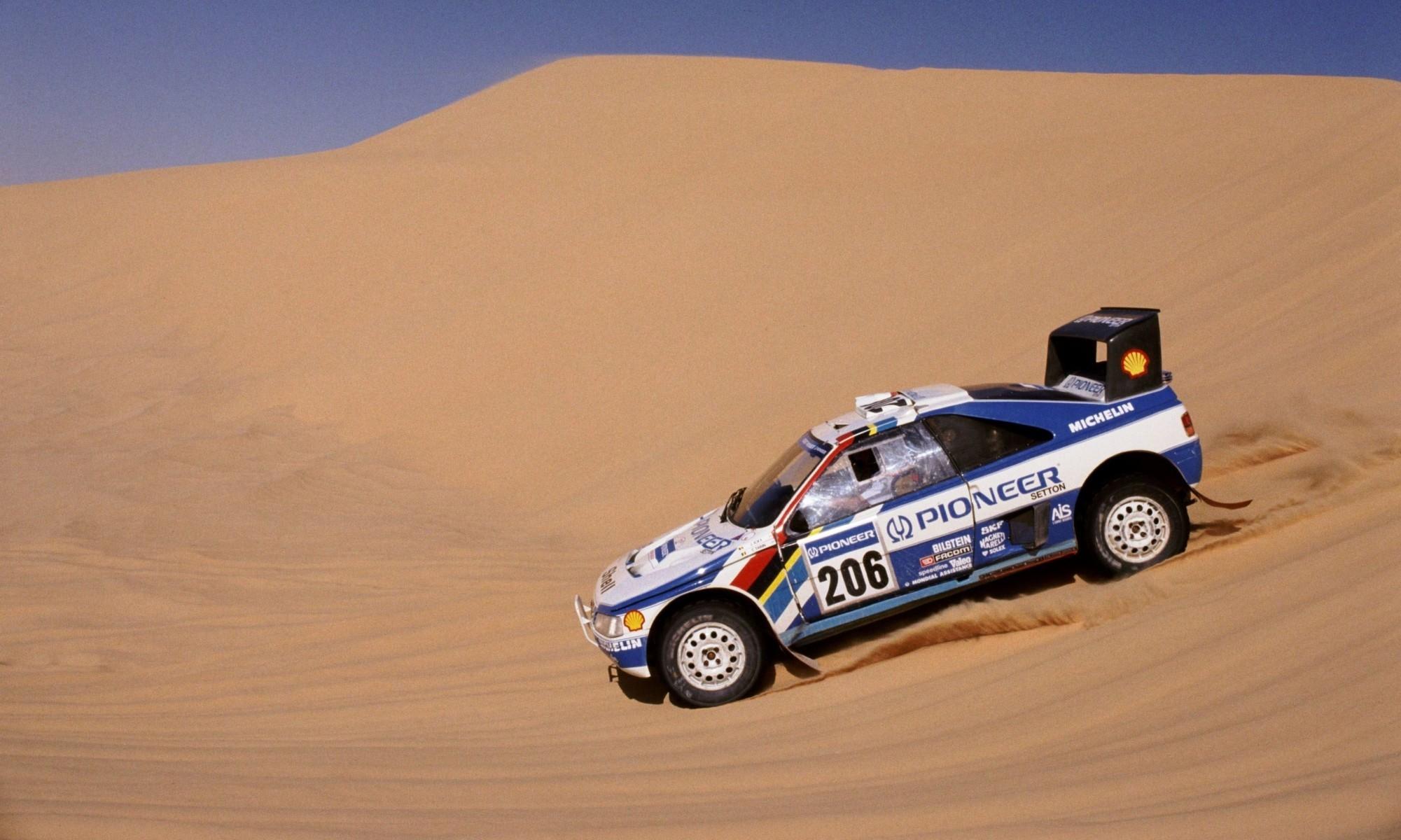 Dakar Classic Peugeot 405 Turbo 1989