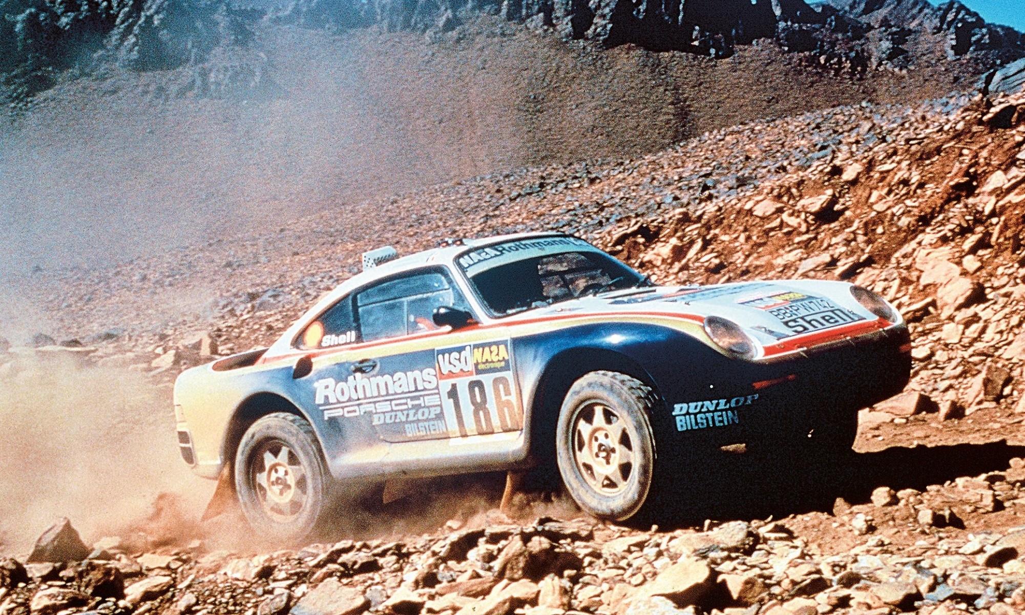 Dakar Classic Porsche 95 1986