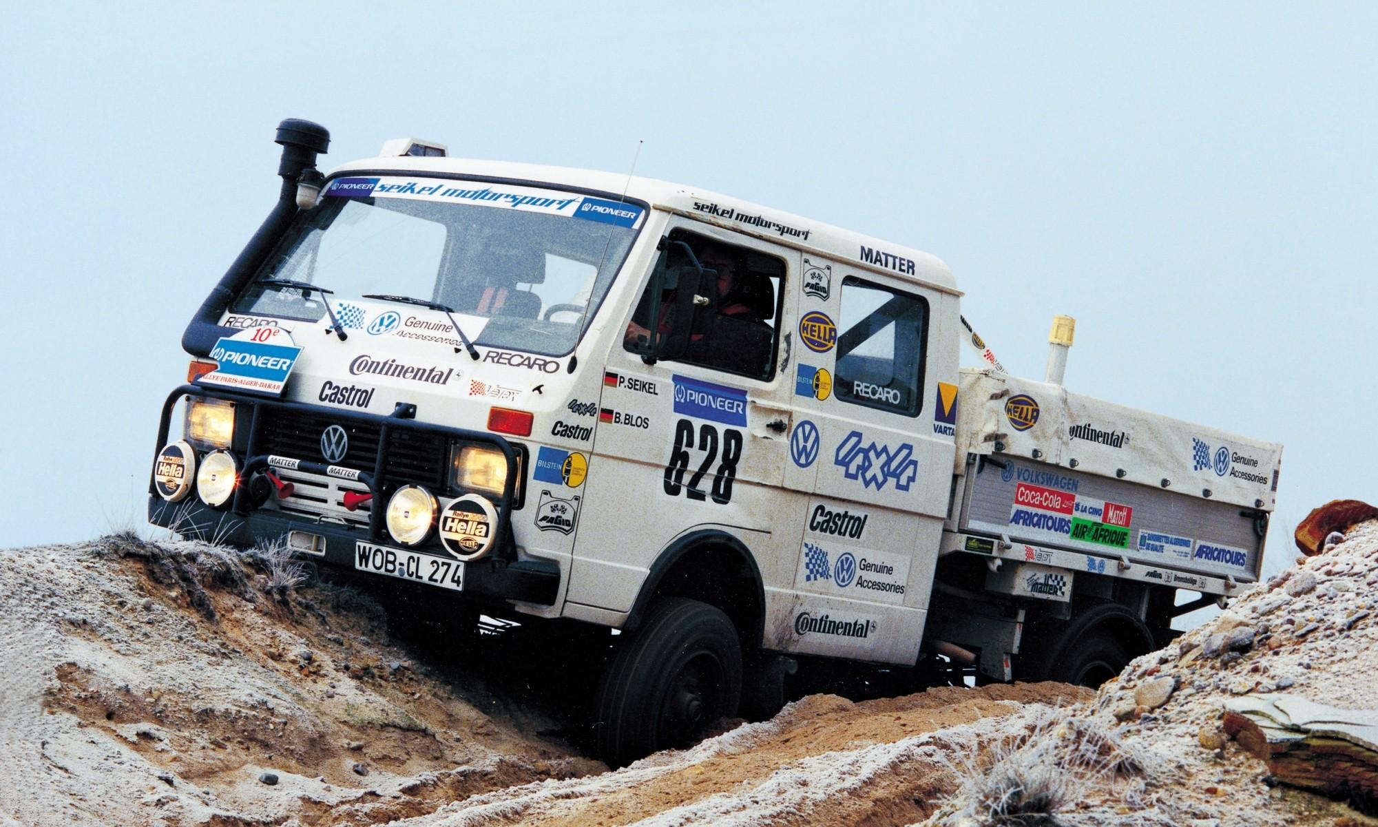 Dakar Classic VW Crafter