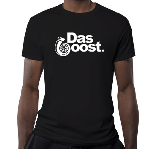 Double Apex Das Boost car T-shirt Black