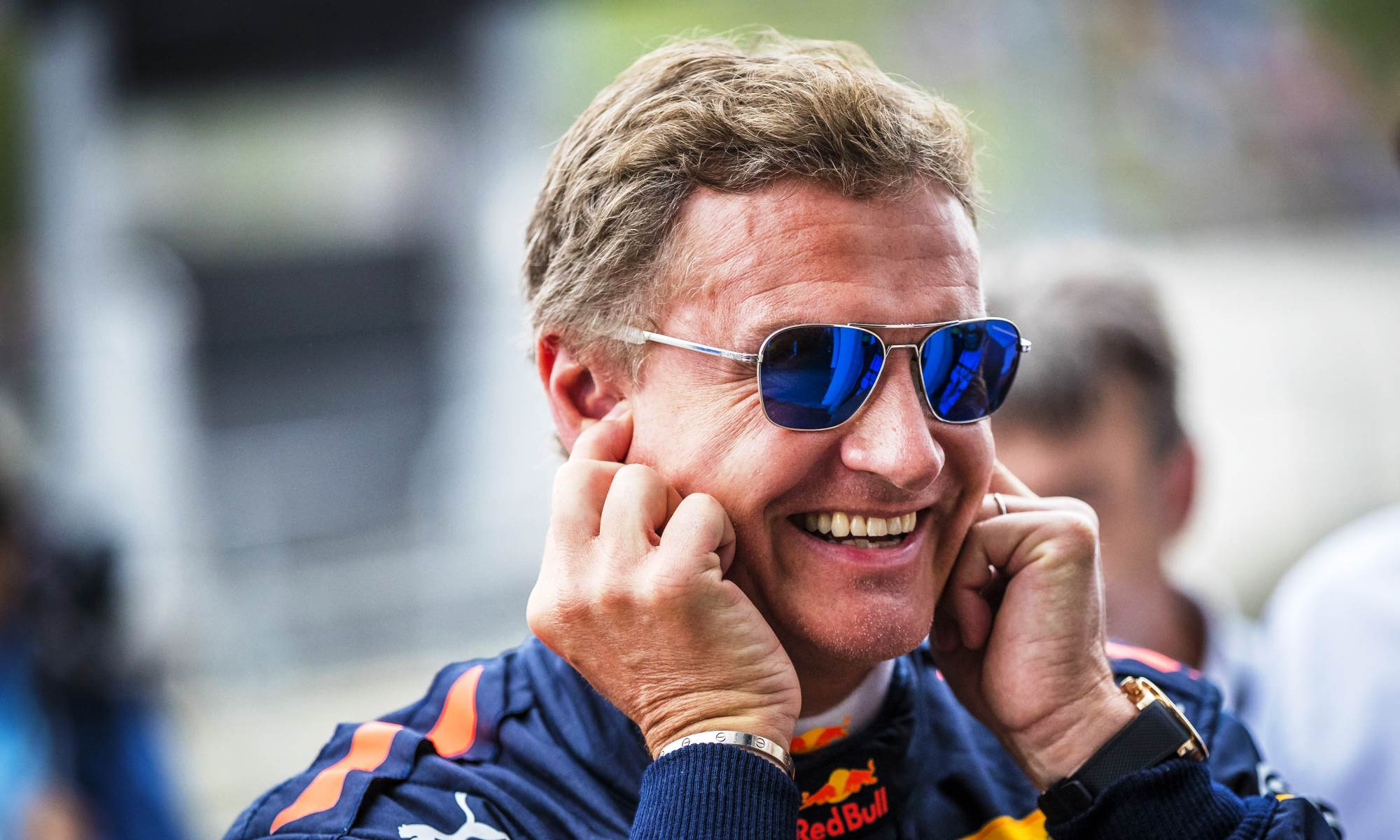 David Coulthard will drive the RBR racecar in Cape Town