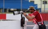 David Marchio looking for the perfect shot