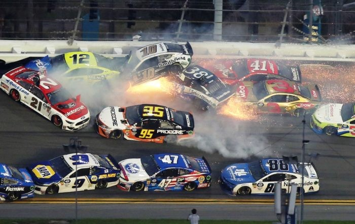 Daytona 500 Crashes