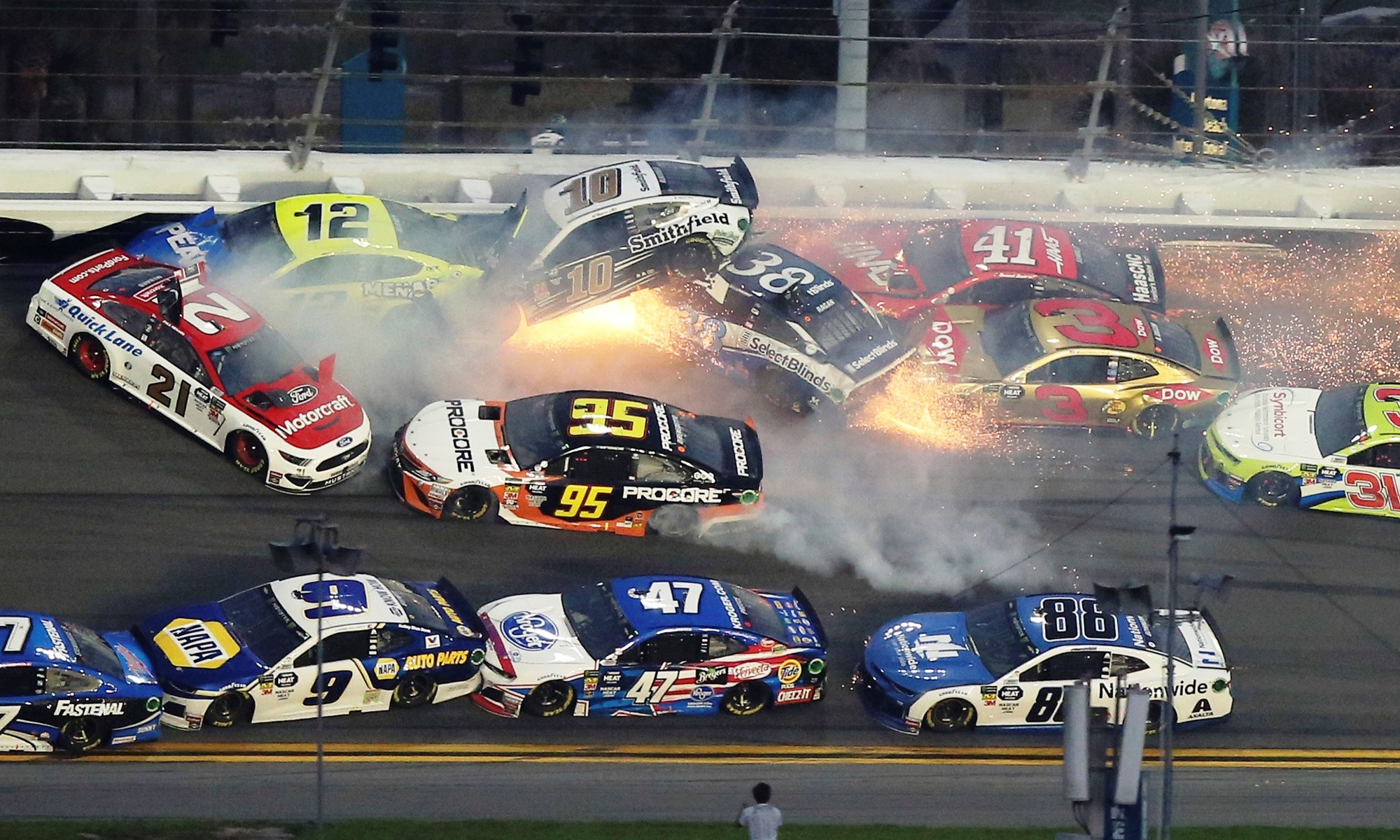 Daytona 500 Crashes